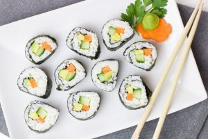 Sushi japanese food Copyright by pxfuel.com