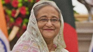 প্রধানমন্ত্রী শেখ হাসিনা image collected and edited for reuse